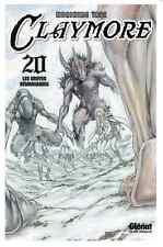 manga Claymore Tome 20 Shonen Norihiro Yagi Glenat Dark Fantasy Kaze DVD Berserk