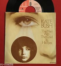 "KATE BUSH -The Man With The Child In His Eyes- Dutch 7"" +Pic Slv. (Vinyl Record)"