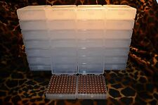 22 lr Ammo Box / Case / Storage (30 PACK) 1000 Rnds of STORAGE (NO AMMO)
