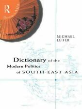 Dictionary of the Modern Politics of Southeast Asia (Routledge in Asia-ExLibrary