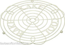 Kitchen Craft Cream Wire Cake Stand Cooling Rack Stand & Holder