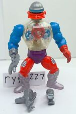 MOTU, Roboto, Masters of the Universe, vintage, figure, He-Man, complete, 100%