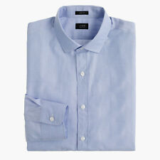 J. Crew Ludlow Dress Shirt End-on-end Cotton Blue Item 99467 NWT L New with Tag