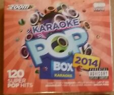 "Zoom Karaoke CDG POP BOX ""un an en karaoke"" 2014 6 disques 120 super hits"