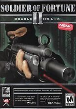 -= RARE =- SOLDIER OF FORTUNE II: DOUBLE HELIX PC Game-Complete in original Box!