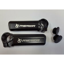 A Pair of Merida Bike Free Ride Aluminium Handlebar Ends Bicycle MTB Extension