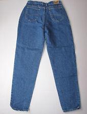 """Vintage Mom Jeans High Waisted Tapered Leg Blue Denim 16 Lee 30"""""""