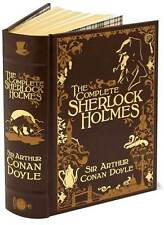 The Complete Sherlock Holmes (Leatherbound Classics) BRAND NEW FACTORY SEALED HC