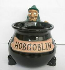Hobgoblin Ale Ceramic Beer Glass - Hob Goblin Witch Mug, Cup