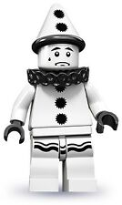 LEGO 71001 Sad White Clown Minifigure Series 10 New SEALED