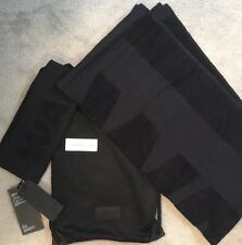 Alexander Wang X H&M 2 Pack Towels Set Black, With Drawstring Bag SOLD OUT BNWT