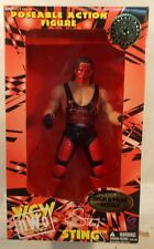 """WCW San Francisco Toymakers 10"""" Sting Wolfpac Red Paint (MISB) OSFTM"""