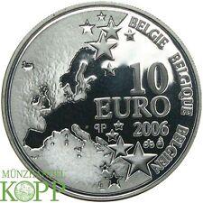 F537) Belgien 10 Euro 2006 Marcinelle