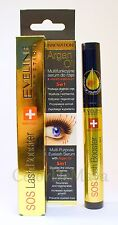 Eveline SOS Lash Booster - Multi-Purpose Eyelash Serum 5 in 1 with Argan Oil