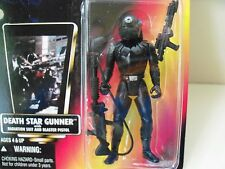 STAR WARS - THE POWER OF THE FORCE - DEATH STAR GUNNER / RADIATION SUIT FIGURE