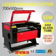 Laser Gravierfräsmaschine Engraver Cutting Machine 60W CO2 USB2.0 and USB Disk