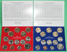2011 United States Mint Annual P and D Uncirculated Coin Set 28 Coins with COA