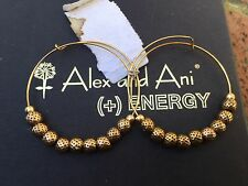 NWT ALEX and ANI Endless RAFAELIAN GOLD EUPHRATES SMALL Beaded HOOP EARRINGS