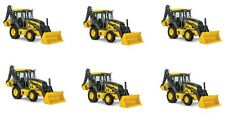 Backhoe Construction Truck Edible Party Image Cupcake Topper Frosting Circles