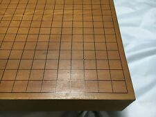 VINTAGE JAPANESE THICK KAYA WOOD GO GAME BOARD GOBAN CARVED 17.7×16.5inch craft