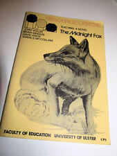 TEACHING A NOVEL THE MIDNIGHT FOX/University of Ulster/education/teaching/guide