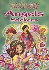 Glitter Angels Stickers by Marty Noble (2005, Paperback)