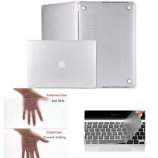 "Rubberized Hard Case Shell+Keyboard Cover for Macbook Pro 13/15"" Air 11/13"" Inch"