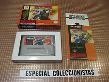 SNES SUNSETRIDERS PAL UK COMPLETO SUPER NINTENDO KONAMI MUY RARO
