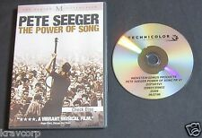 PETE SEEGER 'THE POWER OF SONG' 2008 PROMO DVD