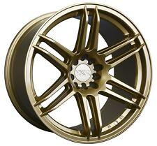 XXR 558 15X8 Rims 4x100/114.3 +20 Gold Wheels (Set of 4)