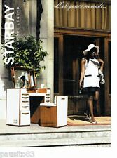PUBLICITE ADVERTISING 116  2008  les meubles Starbey coiffeuse