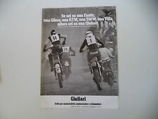 advertising Pubblicità 1978 SELLE GIULIARI e KTM/MOTO VILLA/SWM/ RAHIER
