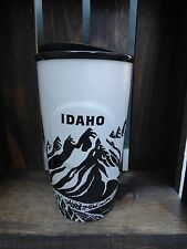 Starbucks IDAHO Double Wall Traveller Mug Cup Ceramic Coffee Tumbler New