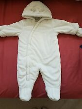 Mothercare Fluffy Snowsuit (6-9months)