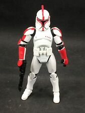Star Wars aga legends CLONE TROOPER CAPTAIN aotc C2 red