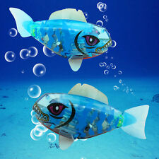 Battery Powered Swimming Robofish Robo Fish Kids Childen Robotic Pet Toy Gift