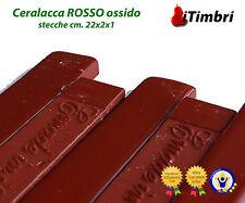 Ceralacca classica colorata 5 stecche colore ROSSO ossido