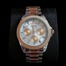 Sekonda Ladies woman's Two-Tone Party Time Silver Dial Chronograph Watch RRP £70