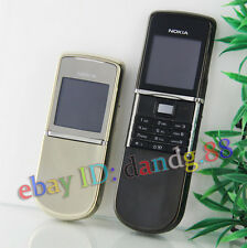 Nokia 8800 Sirocco 8800D 8800SE Cellular Mobile Cell Phone Original Black + Gift