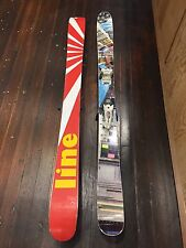2012 Line Sir Francis Bacon Skis And Marker Griffon Bindings