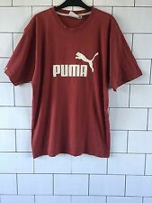 MENS URBAN VINTAGE RETRO RUSTY PUMA SHORT SLEEVE T SHIRT TOP SIZE XL #14