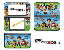 SKIN STICKER AUTOCOLLANT - NINTENDO NEW 3DS XL -  REF 203 PAW PATROL
