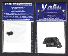 yma7221/ YAHU - Bristol Beaufighter Mk. I - Instrument panel - 1/72
