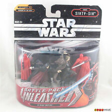 "Star Wars Unleashed 2"" Order Sixty-Six A New Empire battle pack 4 figures - worn"