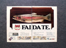 K950-Advertising Pubblicità- 1985 - DAS MODEL FISH SISTEM FAI DA TE , PONGO