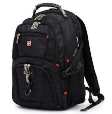 17 inch multifunctional men travel bags Nylon brand Wenger backpack Hiking bag