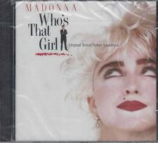 CD ♫ Compact disc **MADONNA ♥ WHO'S THAT GIRL** nuovo sigillato