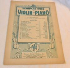 Vintage Sheet Music - Thousand and One Nights Waltzes (Violin and Piano)