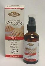NatureSun Aroms - Huile de Massage Muscles et Articulations (Effort) Bio - 50 ml