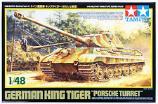 "Tamiya 32539 German King Tiger ""Porsche Turret"" 1/48 scale kit"